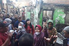 Tinjau Kebakaran 16 Rumah di Surabaya, Ini Kata-kata Risma ke Warga