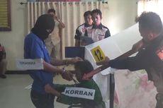Rekonstruksi Pembunuhan IRT Ricuh, Keluarga Korban Mengamuk Serang Pelaku