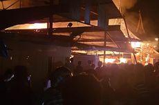 Kebakaran Pasar Lubuk Alung, Api Diduga Berasal dari Salon