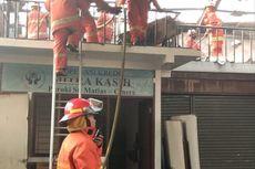 Mess Karyawan di Pondok Labu Terbakar
