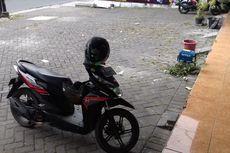 Terekam CCTV, Pengendara BMW Curi Tong Sampah Seharga Rp 70.000