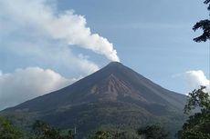 Sabtu Siang, Gunung Karangetang Luncurkan Guguran Lava Sejauh 2.200 Meter