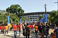 Final Piala Indonesia, The Jakmania Padati Area Gelora Bung Karno