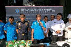 BNN Ungkap Peredaran 120 Kg Sabu dari Malaysia yang Diselundupkan ke Indonesia