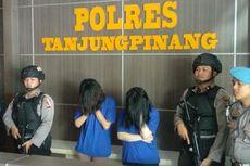 Kantongi Ekstasi dan Sabu, 2 IRT di Tanjungpinang Ditangkap