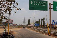 Portal Penghalang Truk Berat di Exit Tol Kalimalang 2 Roboh Ditabrak