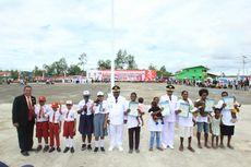 KIA Jadi Kado di Hari Kemerdekaan untuk Anak-anak Asmat