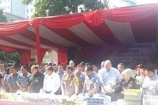 Polda Metro Jaya Musnahkan 71,8 Kilogram Sabu dan 15.326 Butir Ekstasi