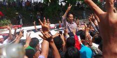 Jokowi: Coba yang di Sana, Berani Enggak Salaman sampai Berdarah-darah