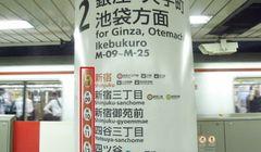 "Cara Membaca Papan Petunjuk di Tiang ""Subway"""
