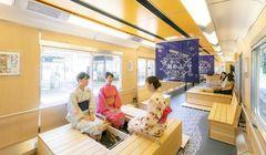 """""""Onsen"""" di Dalam Kereta? Telah Hadir Kereta """"Foot Bath"""" Rute Nagoya ke Yunoyama-Onsen"""