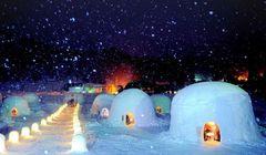 Yang Baru di Jepang, Uniknya Restoran Berbentuk Rumah Salju