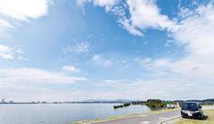 Liburan Tak Biasa di Ibaraki, Menikmati Keindahan Danau Terbesar Kedua di Jepang