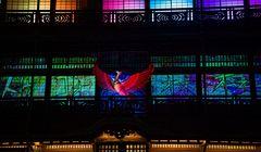 Acara Penuh Cahaya nan Menakjubkan di Pemandian Air Panas Dogo Onsen