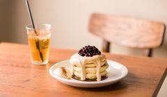 "Lagi ""Ngetren"" di Jepang, Pancake dengan ""Topping"" Boba"