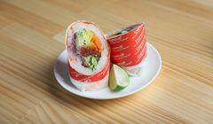 Unik, Hidangan Sushi Bergaya Burrito Kreasi Koki Berbintang Michelin