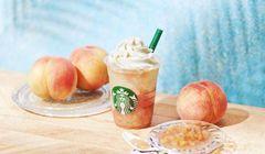 """Starbucks Jepang Luncurkan """"Frappuccino"""" Terbaru dengan Rasa Buah Persik"""