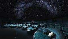 Lagi Hits di Sosial Media Jepang, Kursi Keren di Planetarium Tokyo Bikin Kamu Rileks