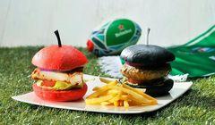 Burger Hitam Sampai Ramen Rugby, Semarakkan Piala Dunia Olahraga Rugby di Jepang