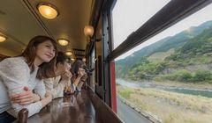Kereta Wisata di Jepang Ini Tawarkan Pengalaman Kulineran dan Pemandangan Indah