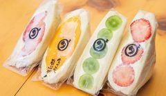 Sandwich Buah yang Instagramable Ini Sangat Populer di Jepang