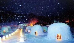 Unik, Bikin Kubah Salju di 3 Festival Kamakura Jepang