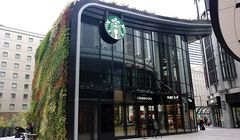 Unik, Starbuck Bernuansa Hutan Buka di Jepang