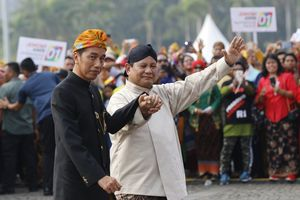 Deklarasi Kampanye Damai Dua Pasangan Calon Presiden