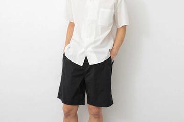 Nylon wide shorts/ SEVENDAYS=SUNDAY