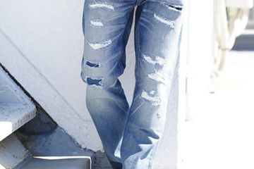 Straight denim pants/ CRAFT STANDARD BOUTIQUE