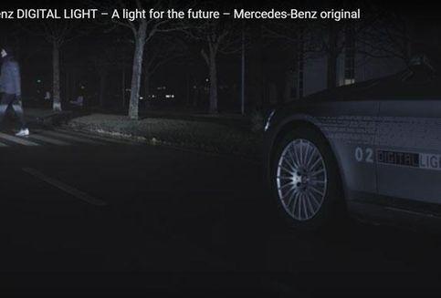 "Mercedes Benz Luncurkan ""Headlamp"" Canggih"
