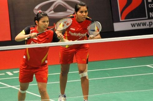 Greysia Polii/Nitya Terobos Semifinal Singapura Terbuka