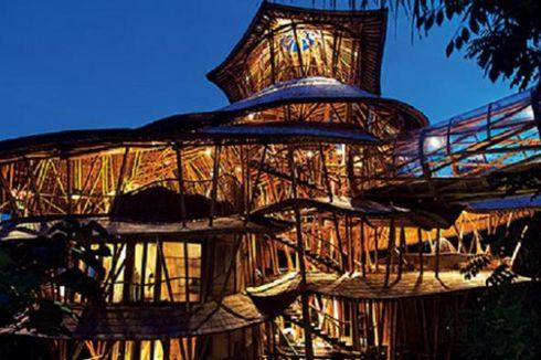 Asing Terpincut Rumah Bambu Bali
