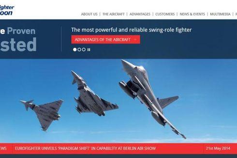 Pesawat Tempur Eurofighter Jatuh di Spanyol