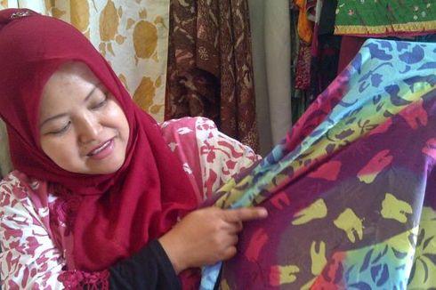 Unik, Motif Gigi pada Kain Batik Sukabumi