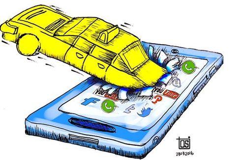 Ahok: Taksi Online Harus Diuji Kir