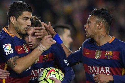 Luis Suarez: Untung Lawan Liverpool Cuma Laga Persahabatan