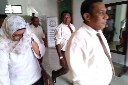 2 Tersangka Korupsi Dana Hibah KPU Sarmi Ditahan