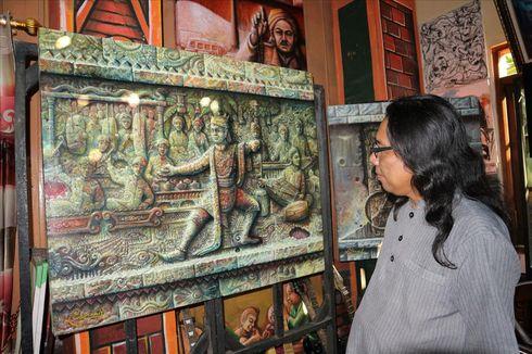 Cerita Cak Luk Seniman Jombang, Melestarikan Ludruk Agar Tak Punah Lewat Lukisan