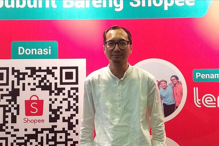 Country Brand Manager Shopee Indonesia, Rezky Yanuar.