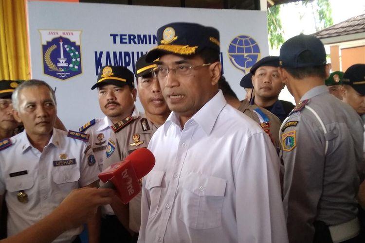 Menteri Perhubungan Budi Karya Sumadi imbau warga Wonosobo tidak menerbangkan balon udara liar lagi dalam wawancara di Jakarta, Kamis (6/6/2019).