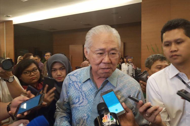 Menteri Perdagangan Enggartiasto Lukita di kantor Kemendag, Jakarta, Rabu (12/6/2019).