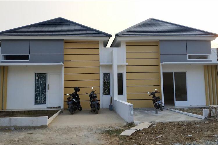 Situasi rumah di Griya Syariah, Babelan, Kabupaten Bekasi yang jadi lokasi penggerebekan satu terduga teroris, Minggu (30/6/2019).(Vitorio Mantalean)