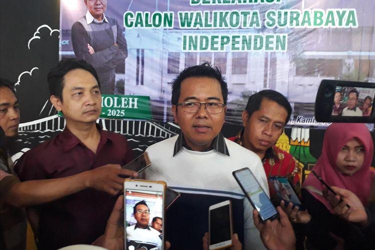 Advokat dan Wakil Ketua DPD Partai Gerindra Jawa Timur M. Sholeh