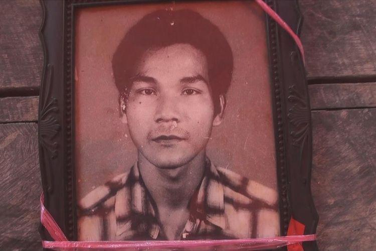 Foto Karoman korban mutilasi tanggal 16 Juni lalu yang salah satu pelakunya atas nama Ibrahim sudah terungkap dan ditetapkan sebagai tersangka oleh polisi.