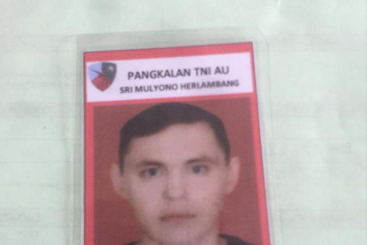 Andrey Sushakov (43) teknisi helikopter water boombing asal Rusia yang tewas di Palembang.