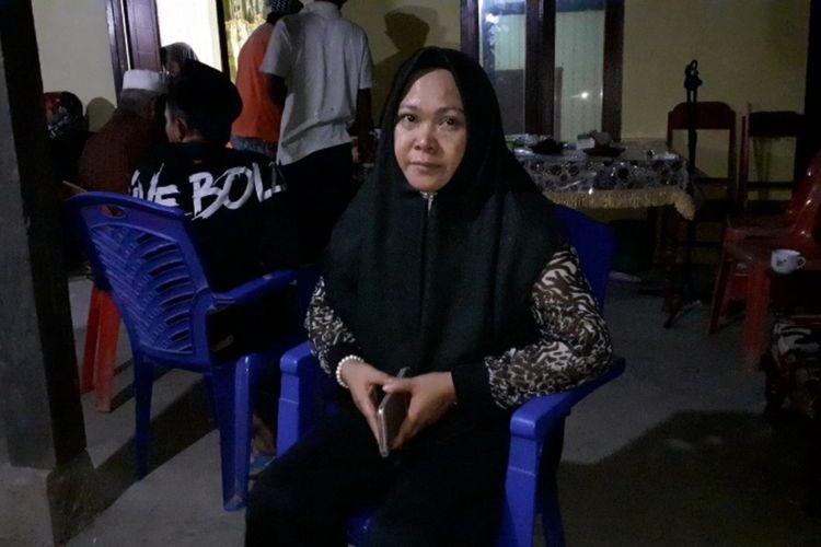 Ibu Brigpol Anumerta Hedar, Nurhaeda di rumah duka Kabupaten Barru
