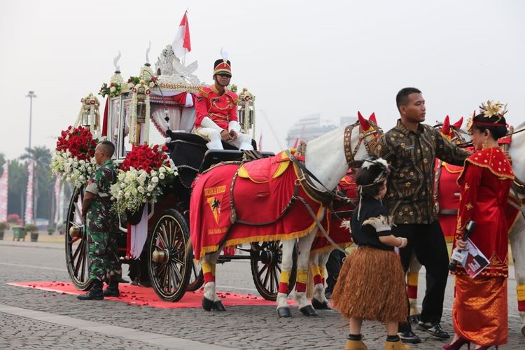 Ki Jagarasa, Kereta Kencana Pembawa Bendera Pusaka di HUT RI ke-74 Tahun