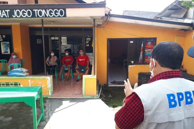 (jateng k180-19) 106 Warga Isolasi Mandiri, Dana Desa untuk Bantuan Sembako Habis