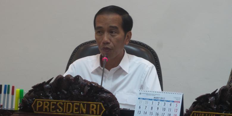 Pimpin Rapat soal Pengembangan Sulawesi Utara, Ini Instruksi Jokowi